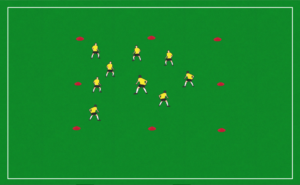 Do Not Touch Box Setup  sc 1 st  Soccer Drills App & 3 Fun Team Building Drills - Soccer Drills App